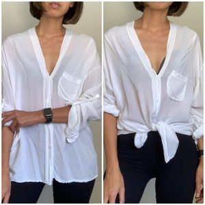Brandy Melville Button Up Shirt